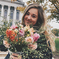 Headshot of student ambassador Maddie Miller.